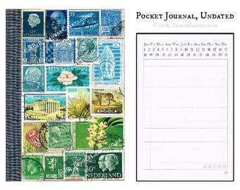 Stamp Art Journals