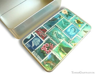 Ocean Deep Storage Gift Tin - Stationery, Travel Souvenirs etc