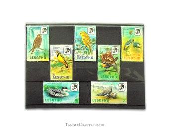 Birds on Stamps - Lesotho Part Set, 1981