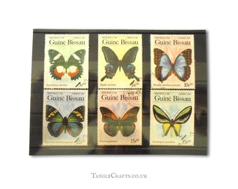 1984 Butterfly Postage Stamps, Part Set from Guinea-Bissau