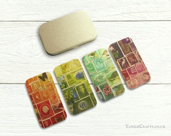 Tiny Tin + 4 Interchangeable Magnets Gift Set