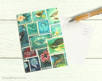 Ocean Deep, Set of 8 Postcards