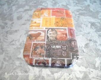 Sunset Fridge Magnet • Postage Stamp Print Office Accessory