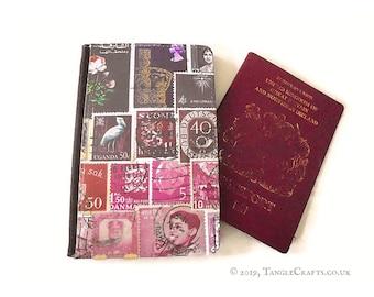 Heather Haze Passport Cover with optional matching storage tin