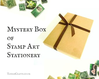 Stationery Sampler Mystery Box - mixed set in packet, box or tin