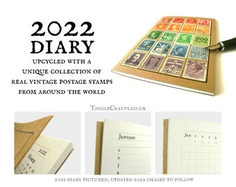 World Rainbow Diary 2022, A6 Month to View Pocket Planner