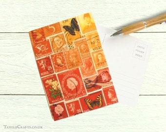 Fire Glow Postcards, Set of 8
