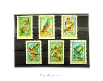 Birds on Stamps - Hungary Part Set, 1973