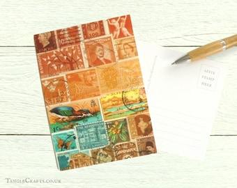 Sunset Heron Postcards, Set of 8