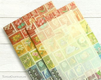 A4 Rainbow Writing Paper Notepad, 25 sheets recycled paper