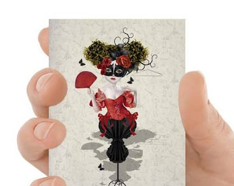 ACEO Card | Mannequin ACEO Card | ACEO Art Card | Artist Trading Card | Mannequin