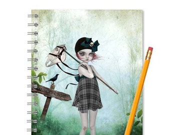 Banbury Cross notebook journal | Blank Sketchbook | Art Journal | Handmade book | Lined or blank pages