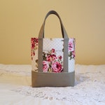 BIBLE TOTE Bible Bag Perfect Size for your Bible, Journal, Pens, Study guides.