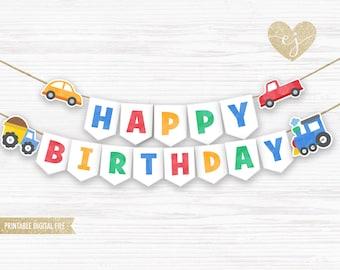 Details about  /x2 Personalised Birthday Banner Toddler Design Children Kids Decoration 52
