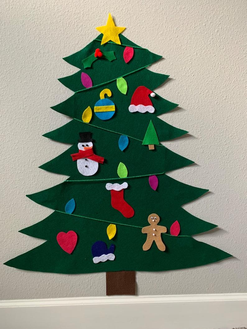 Felt Christmas tree image 1