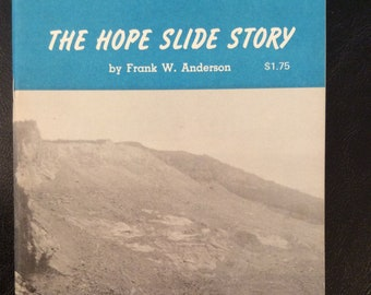 vintage book ... The HOPE SLIDE STORY ... Frontier Book No 12