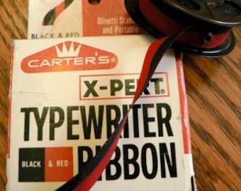 vintage office  ... CARTER TYPEWRITER Xpert seven RIBBON in original box  ...