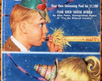 vintage magazine ephemera ... CORONET  ...