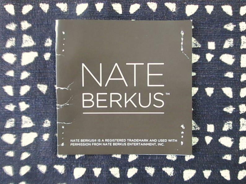 25-square Nate Berkus geometric decorator samples in opposite colors Two 2