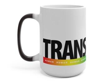 Rainbow Human Mug : Transgender