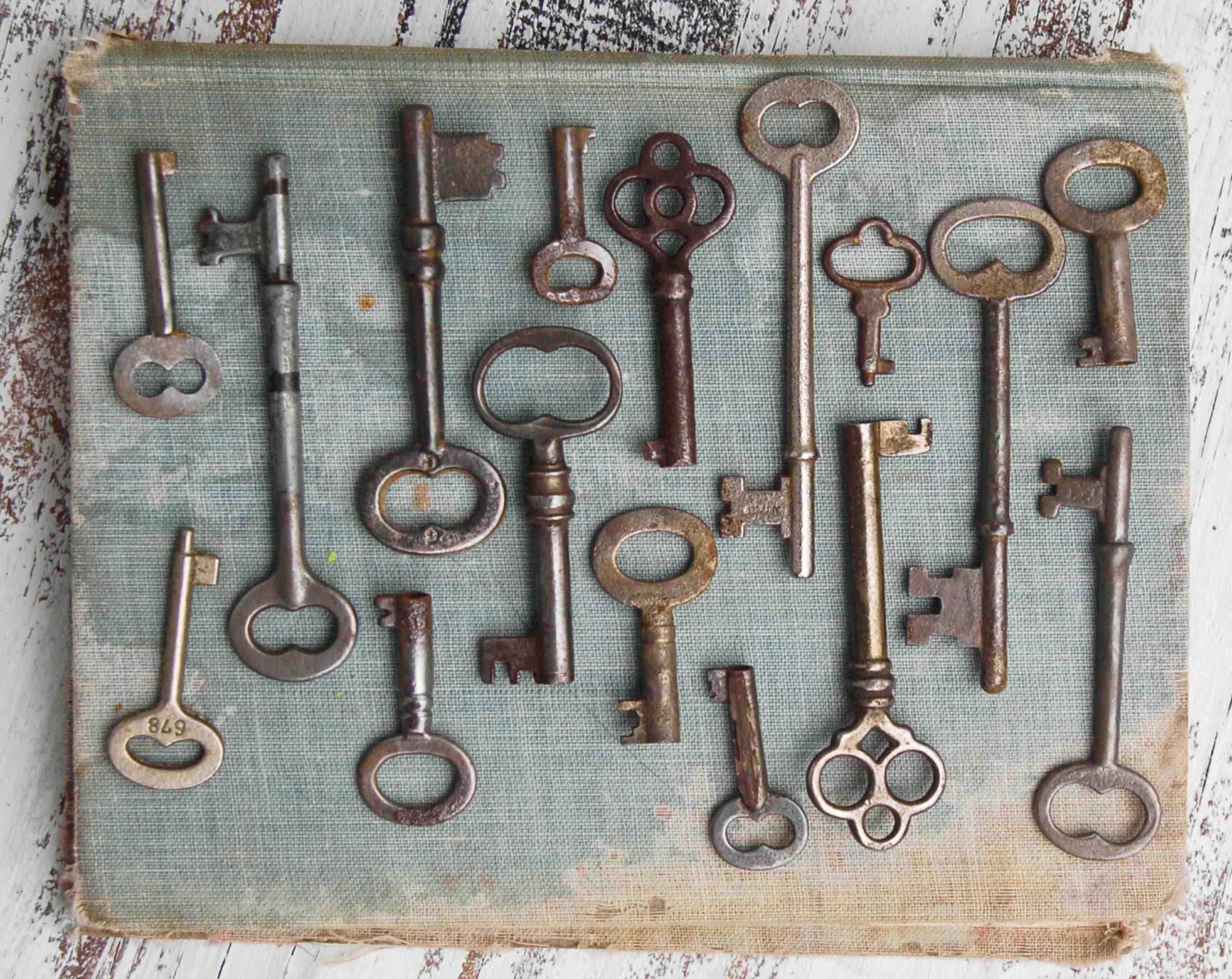 Vintage Key Collection Photographic Print Skeleton Key Photo Etsy