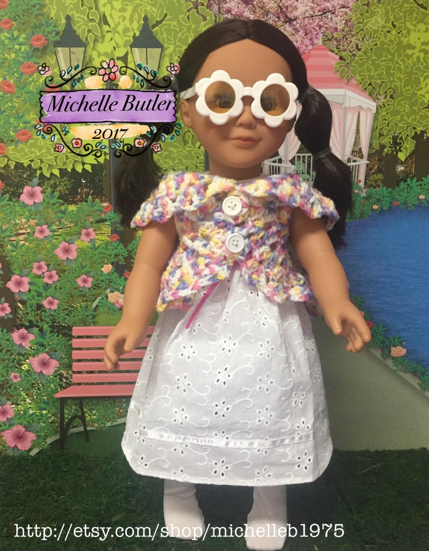 American Girl Puppe 18 Puppe Häkeln Boho Hippie Jacke Etsy