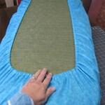 Elasticized Camper Sofa Gaucho Cushion Covers back and bottom - set of 2 - custom - made to order - you provide fabric