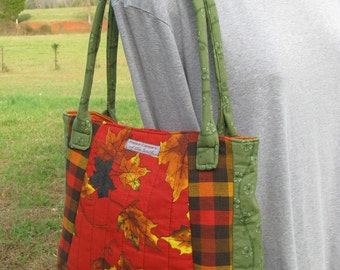 SALE - Autumn Handbag by Happy Campers of the South (HB012)