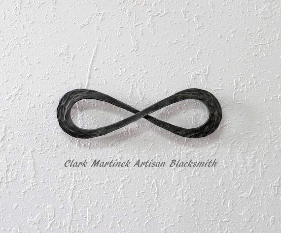 Infinity Symbol Love Knot Iron Anniversary Gift Steel Etsy
