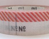 mt ex japanese washi masking tape - number