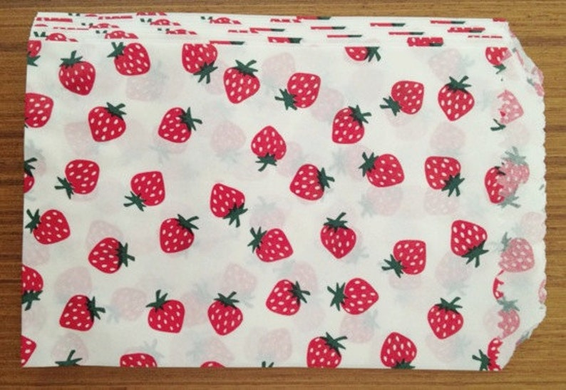 Strawberries Medium Gift Bag