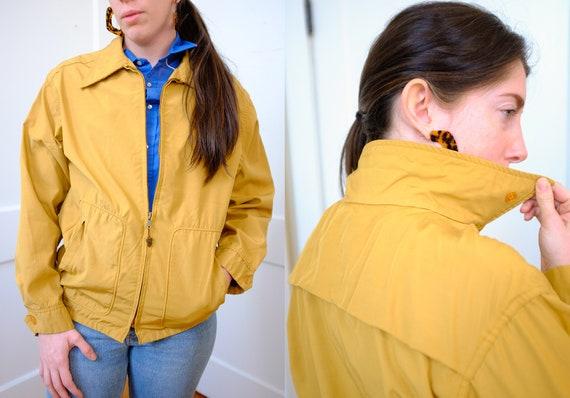 60's Mustard Yellow McGregor Drizzler Utility Rain