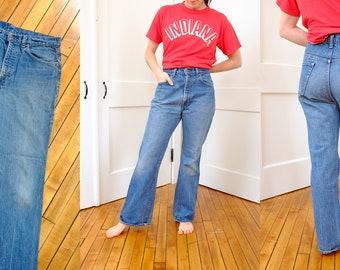 Vintage Levi 517 xx Jeans, Comfy Vintage Levi Size 33 x 29, Vintage 80's 1980's Denim Levi's Relaxed Fit Jeans Size 6 8 Boyfriend Cut