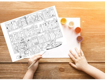 Bible Verse coloring page- Psalms 3:3a