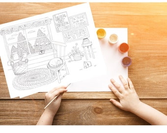 Bible Verse coloring page- Mark 11:24b