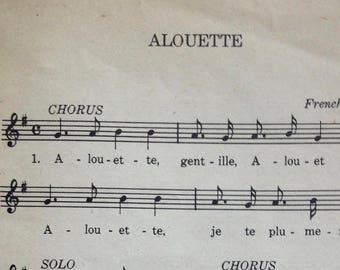Alouette Antique Music