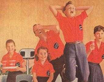 Coca cola ad 1960   Etsy