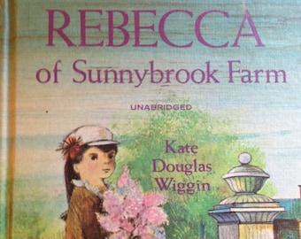 1965 Rebecca of Sunnybrook Farm Classic Book