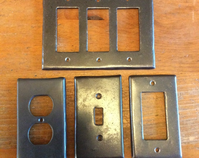 Forged Switch and Plug Cover Plates