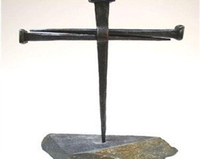 Nail Cross Sculpture