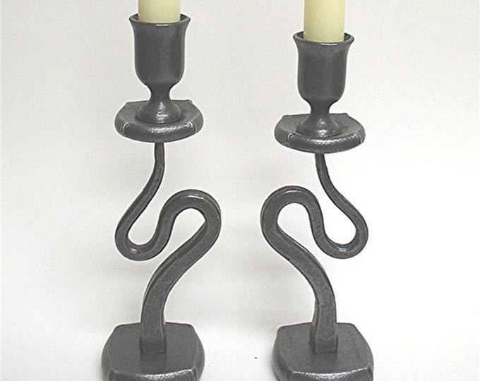 Swirl Candle Holders