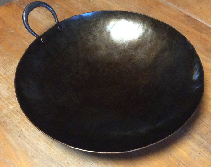 Hand Forged Carbon Steel  Wok