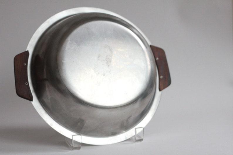 Vintage  Stelton  Bowl  Stainless steel  Danish design  Danish modern