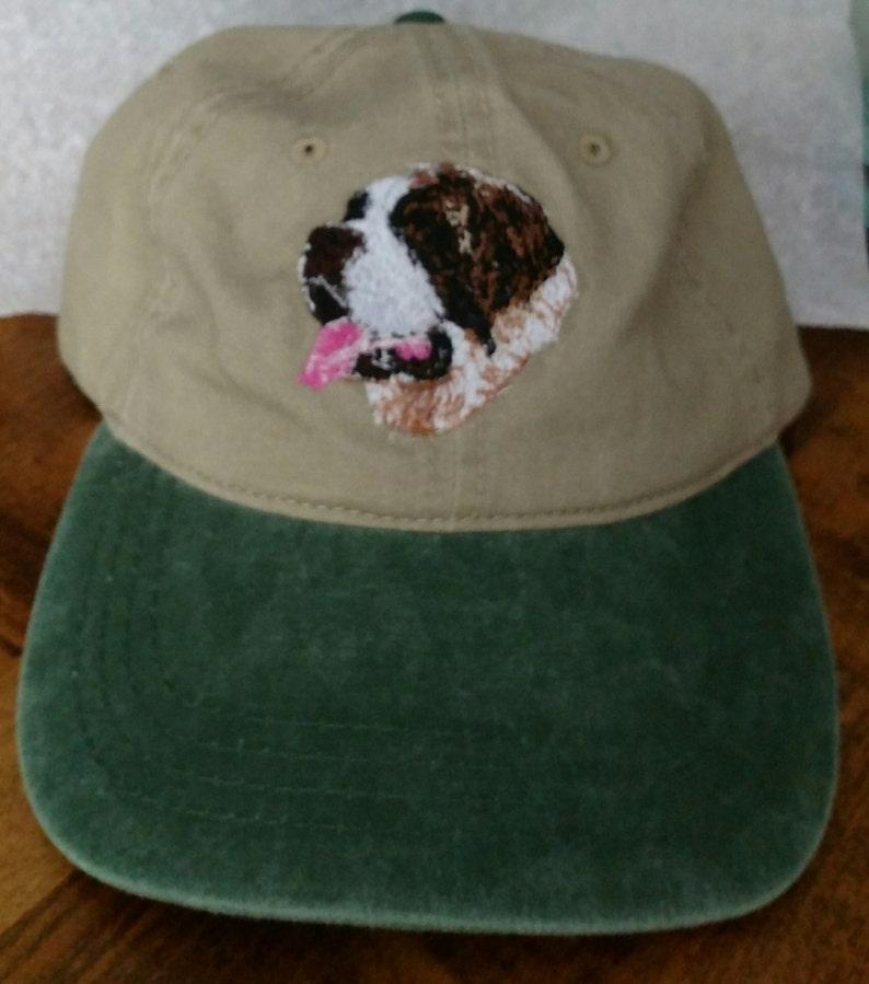 St Bernard baseball style hat
