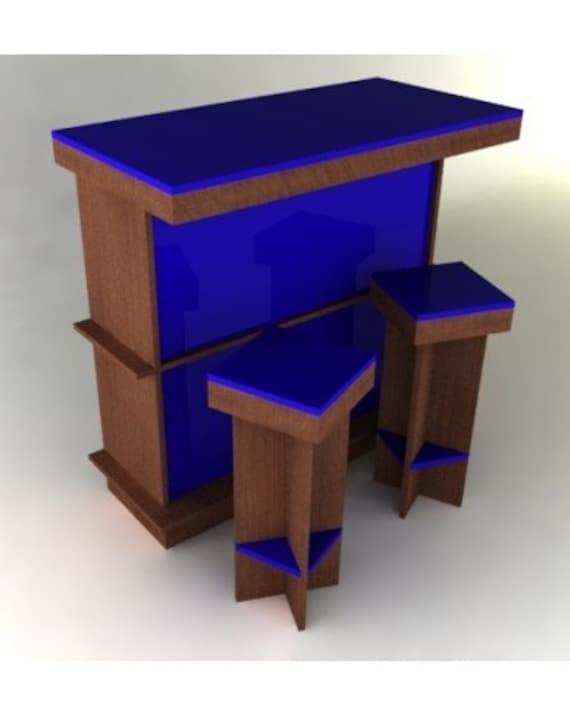 Modern Dry Bar Furniture Plan, Dry Bar Furniture
