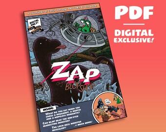 PDF – A Li'l Zap of BlopShop! Digital exclusive anthology of Alex Hahn's early comics