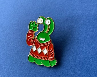 BLOP Enamel Pin – 38mm; Limited Edition of 100.
