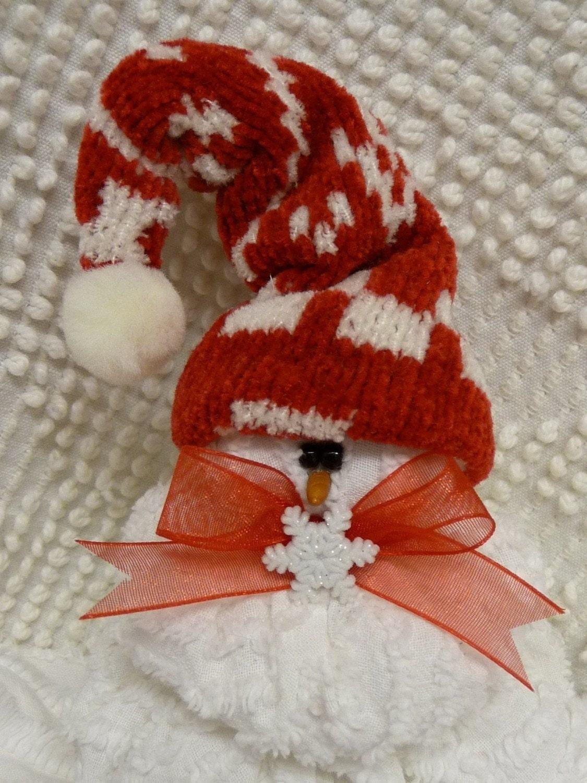 Mini Sewing Pattern Im Melting Snowman Ornament 154e