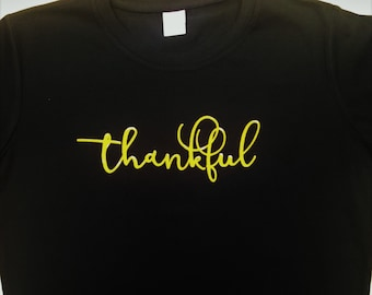 Thankful/Blessed fall t-shirt