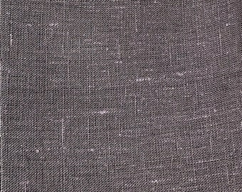 gray linen fabric etsy